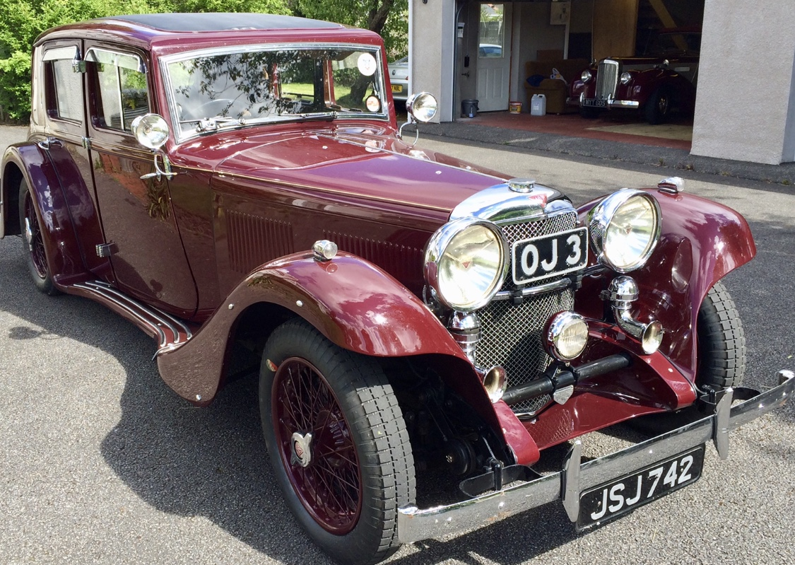 1932 ALVIS SPEED 20 (KL003)