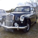 1950's WOLSELEY 4/44 POLICE CAR