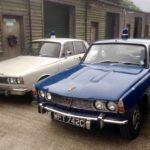 60s/70s ROVER P6 POLICE CARs (FB008 & FB009)