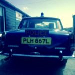 60s/70s ROVER P6 POLICE CAR (FB009)