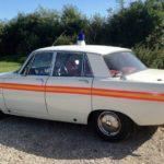 60s/70s ROVER P6 POLICE CAR
