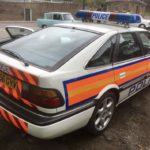 1990's ROVER 827 POLICE CAR (FB015)