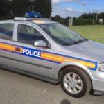 90's/00's VAUXHALL ASTRA POLICE CAR (FB017)