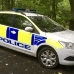 2004 on FORD FOCUS POLICE CAR (FB020)