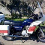 70's POLICE BIKE (FB062)