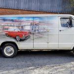 1971 DODGE B300 VAN (FB165)