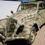 1942 PEUGEOT 202 GERMAN STAFF CAR (FB386)