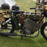 WWI MOTORCYCLE (MJ099)