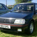 1990 PEUGEOT 205 GTi (FB415)