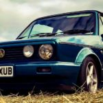 1991 VW GOLF CONVERTIBLE (FB496)