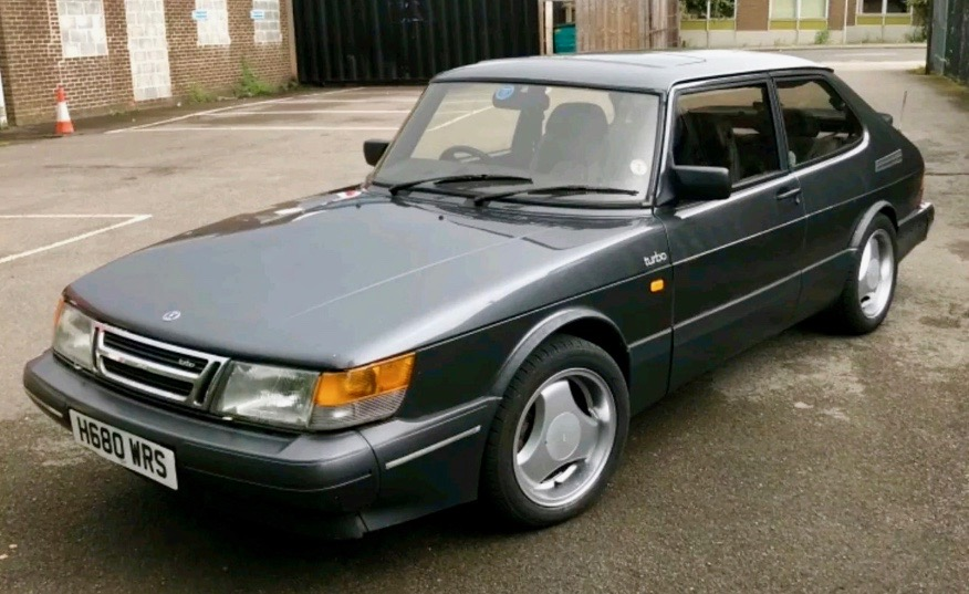1990 SAAB 900 TURBO (FB504)