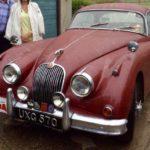 1957 JAGUAR XK150 (FB578)