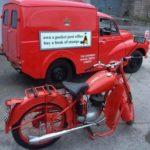 VINTAGE POST OFFICE MOTORBIKE (FB591)