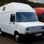 LEYLAND DAF HIGH TOP VAN (MJ666)
