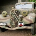 GERMAN WW2 CITROEN 11CV STAFF CAR (FB722)