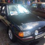 1989 FORD ESCORT XR3i CABRIOLET (FB729)