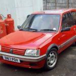 1986 PEUGEOT 205 GTI (FB687)