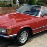 1985 MERCEDES 280SL