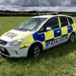 POLICE PANDA CAR (KP001)