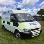 POLICE TRANSIT VAN (KP007)