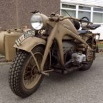 WWII GERMAN ZUNDAPP COMBINATION (MJ076)