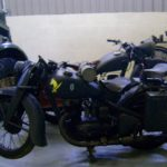 GERMAN WWII MOTORCYCLE (MJ084)