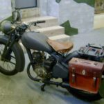 GERMAN WWII MOTORCYCLE (MJ083)