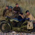 BRITISH WWII MOTORCYCLE (MJ082)