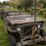 WWII US WILLIS JEEP (MJ085)