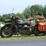WWII MOTORCYCLE (MJ069)