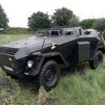 WWII GERMAN ARMOURED CAR (MJ073)