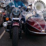 MOTO GUZZI & SIDE CAR (MJ070)